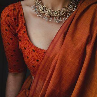 "Margazhii on Instagram: ""#15 December Collection || Margazhi Series || Sold . . . SOLD . . . . Choker : @house_ofjhumkas �: @theyellowkolhapuri"""