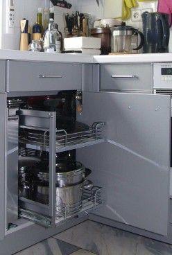 Kücheneckschrank - Magic Corner | neue Wohnung | Kücheneckschrank ...