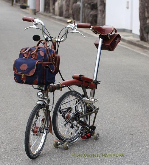 My Brompton Travels Brompton Brompton Bag Bicycle