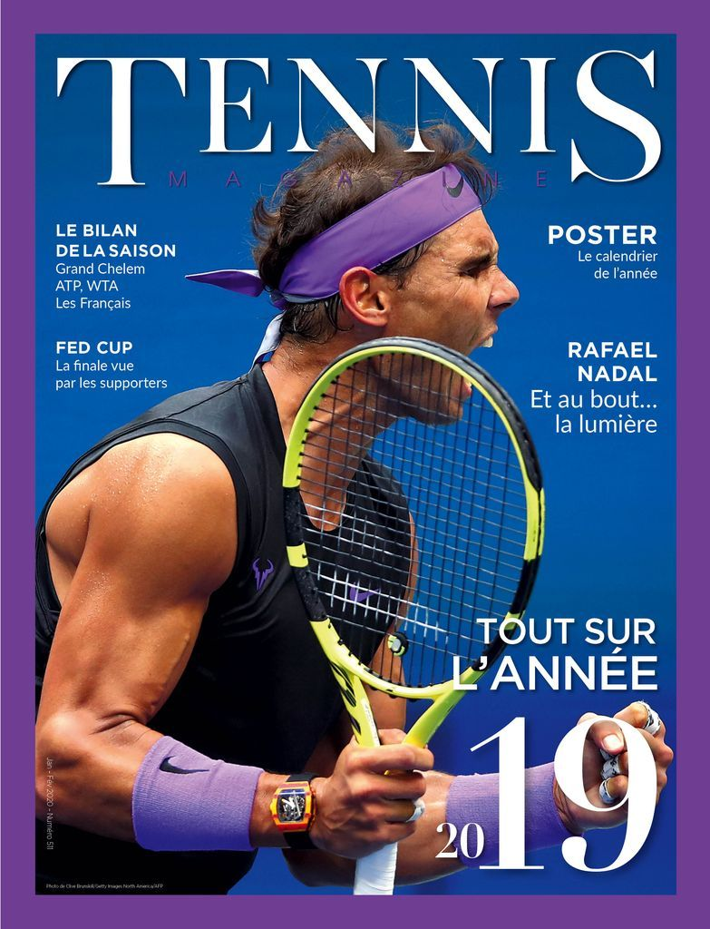 Rafael Nadal Covers French Tennis Magazine In 2020 Tennis Magazine Rafael Nadal Tennis