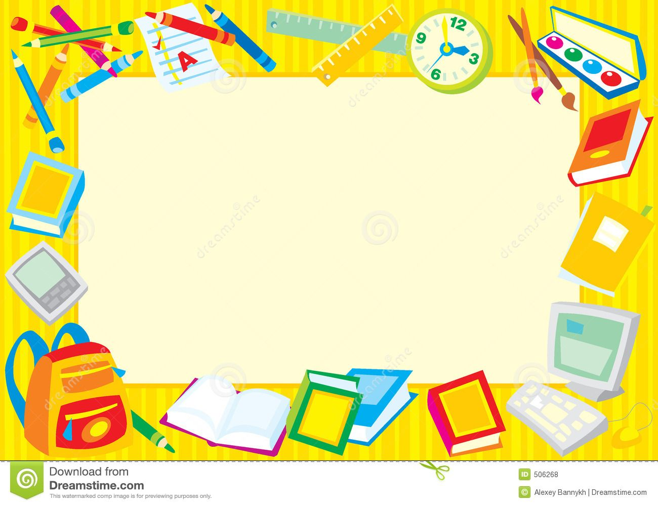 school borders clipart - Free Large Images | Lala ...