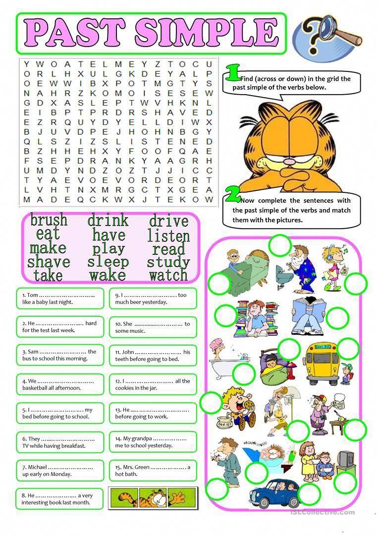 Past Simple Regular Irregular Verbs Worksheet Free Esl Printable Worksheets Made By Teachers Regular And Irregular Verbs Irregular Verbs Verbs Activities [ 1079 x 763 Pixel ]