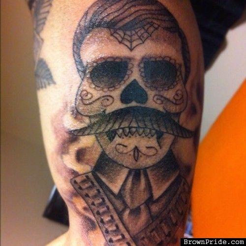 Day of the dead zapata tattoo tatt pinterest tattoo for Emiliano zapata tattoo