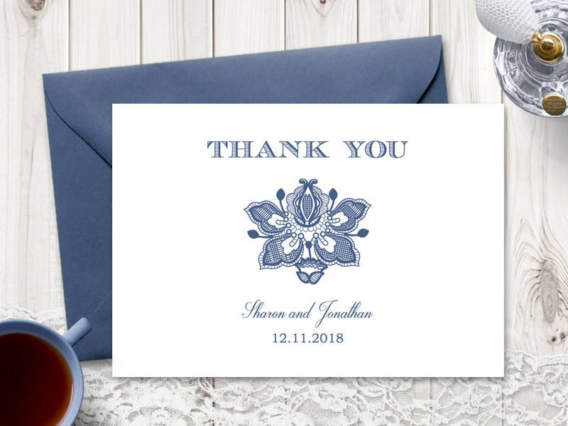 Thank You Card \ - microsoft word thank you card template