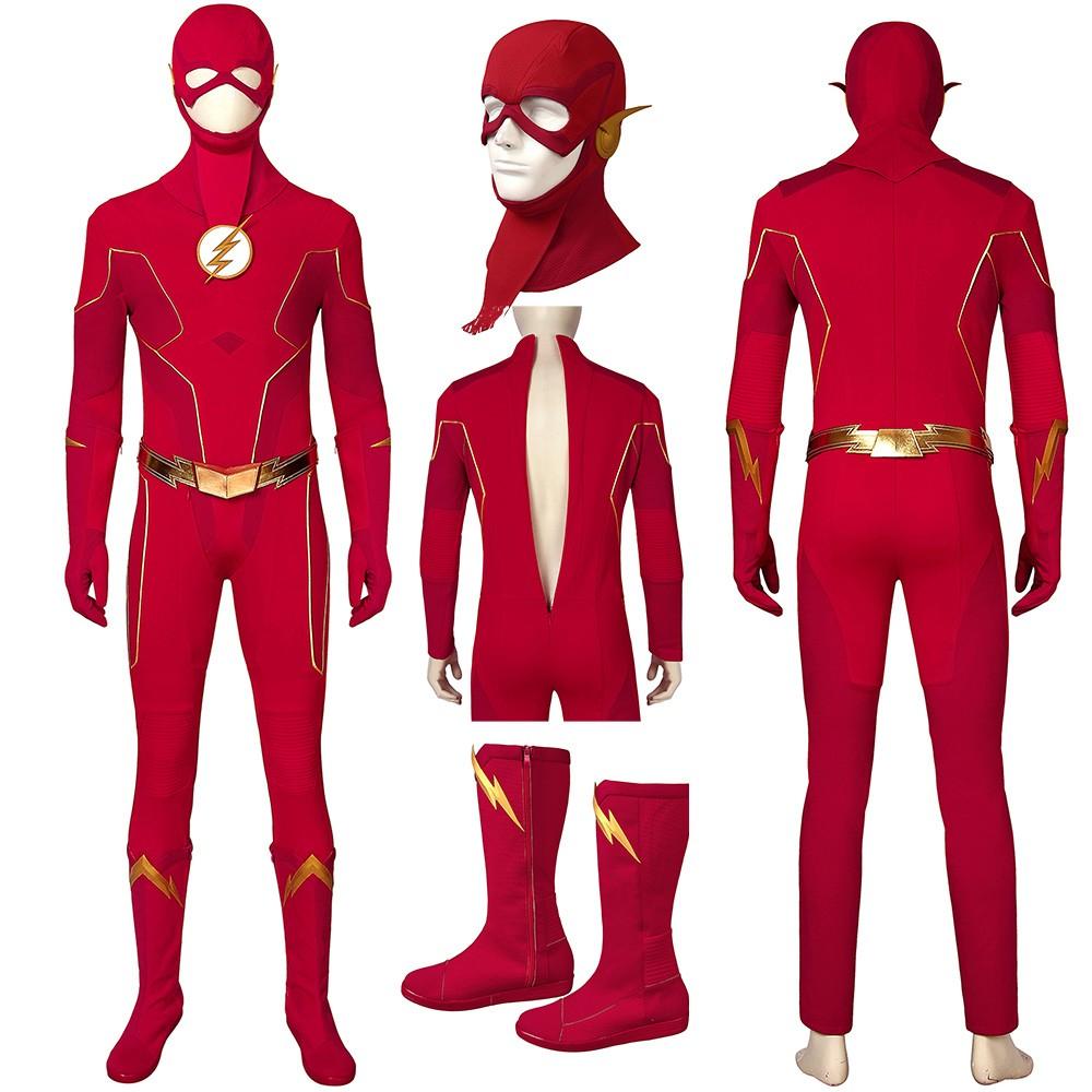 The Flash Season 6 Costume Barry Allen Cosplay Suit The Flash Season Flash Costume The Flash