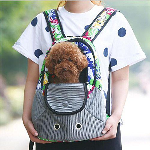 LPET Dog Carrier Front Pack Multi-color Portable Safe Travel Outdoor Gear Bag Soft-sided Dog Straps Carrier for Small Dogs Cats(Under 8lb) * To view further for this item, visit the image link. (This is an affiliate link and I receive a commission for the sales)