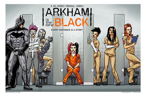 Arkham is the new black