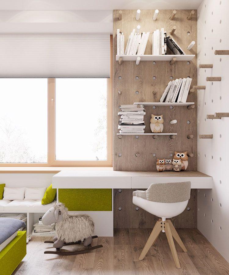 Scrivanie per camerette 35 idee originali per l 39 angolo for Idee arredamento studio casa