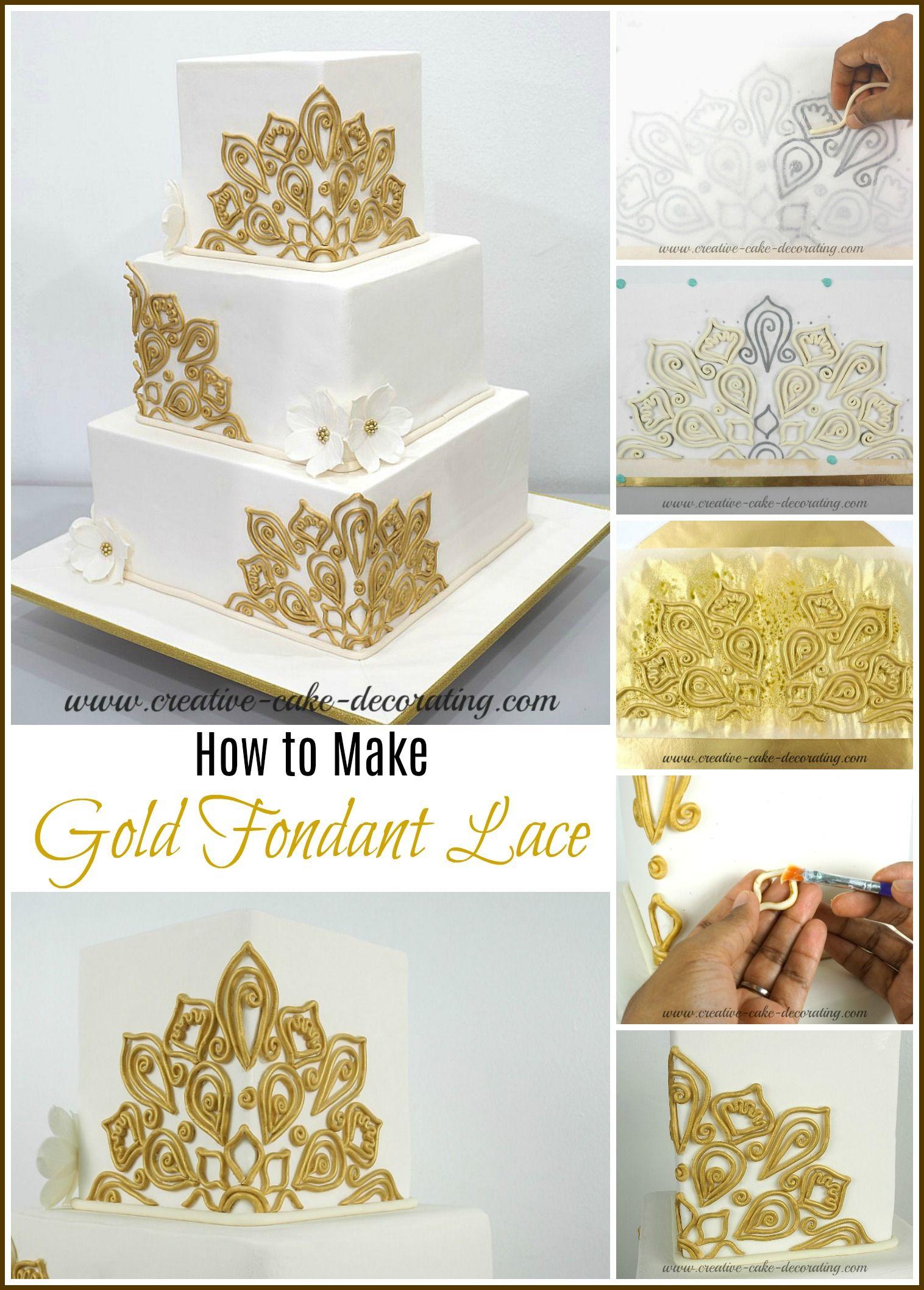 Square Wedding Cake | Cake Decorating Ideas | Pinterest | Square ...