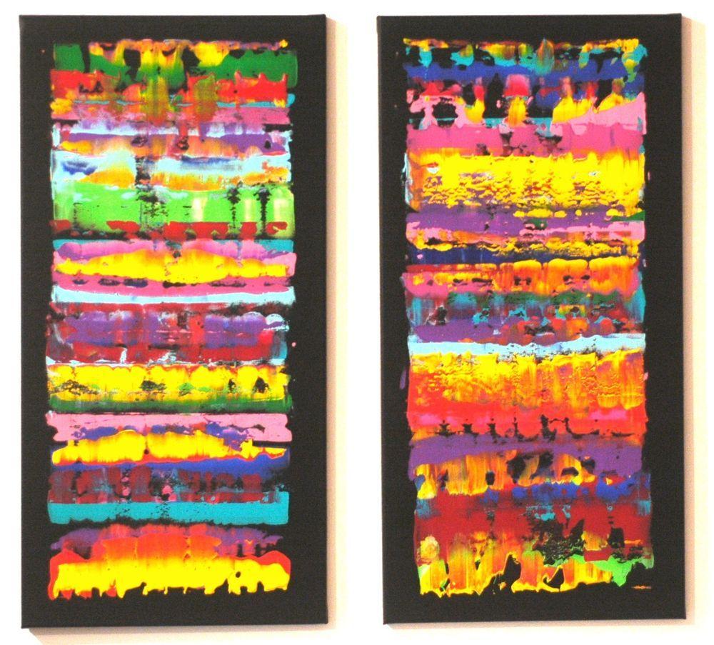 160 cm xxl acryl leinwand bild silberstreif art kunst wandbild abstrakt bunt bilder - Geometrische wandbilder ...
