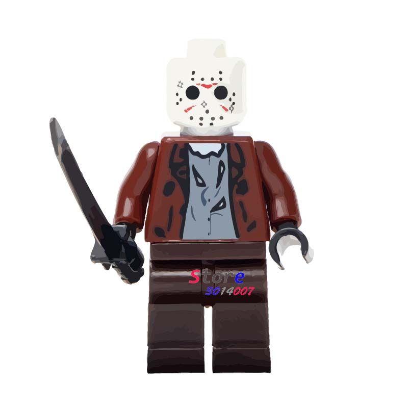 Jason The Horror Movie Lego Moc Minifigure Toys
