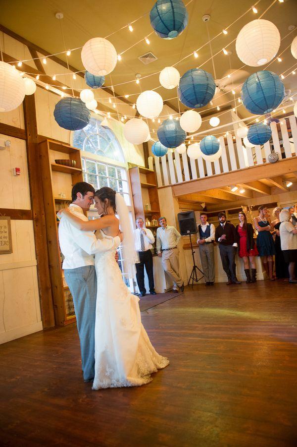 Autumn DIY Wedding in Pennsylvania | Paper lanterns ...