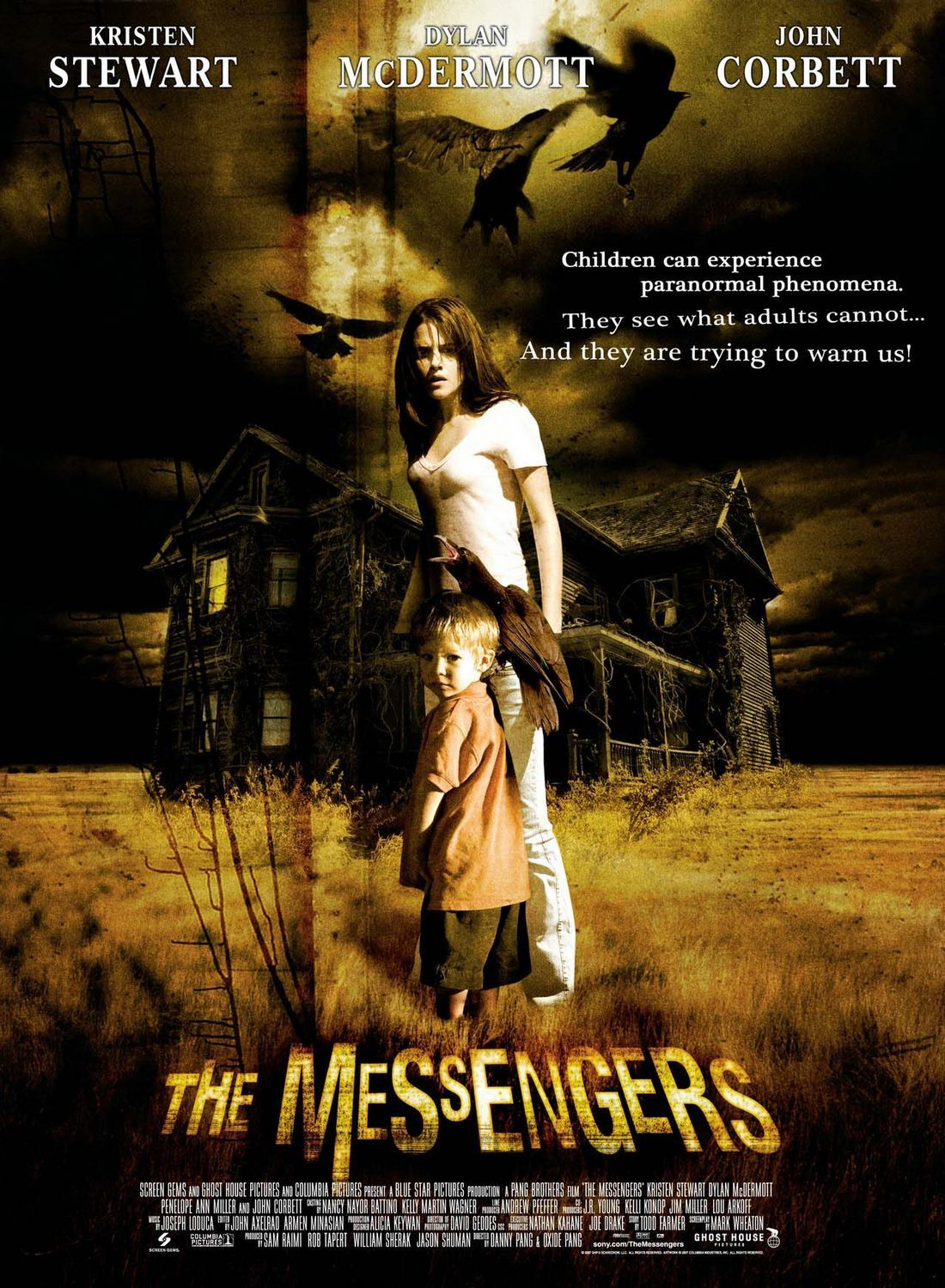 The Messengers Horror movie trailers, The messenger