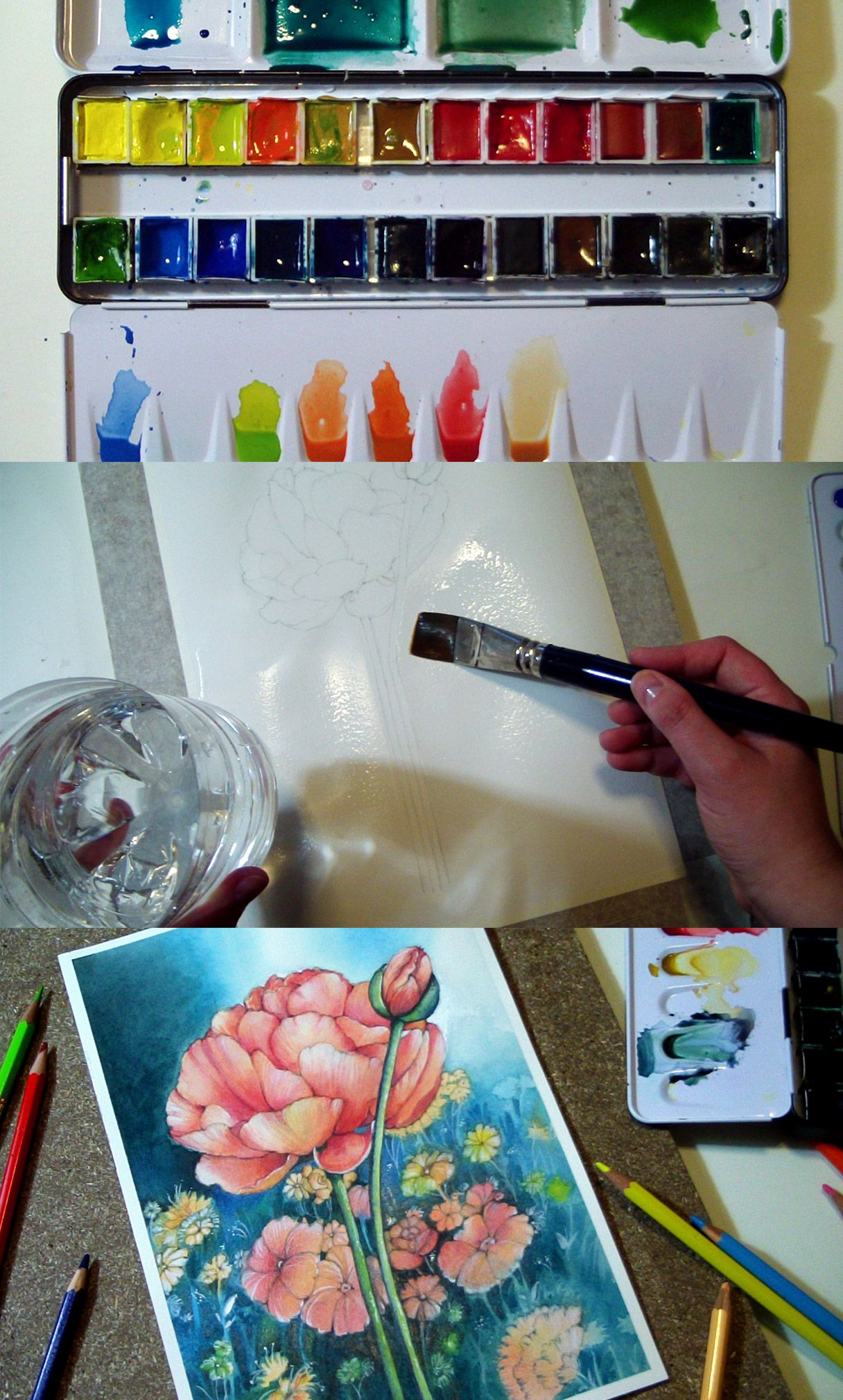 Watercolor Art Class On Www Youtube Com Fantasvale Every Tuesday A