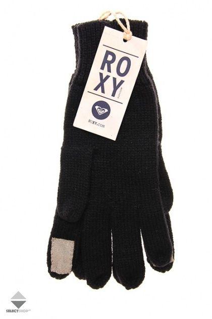 Rekawice Damskie Roxy Tacgl Black Snowboarding Outfit Roxy Black