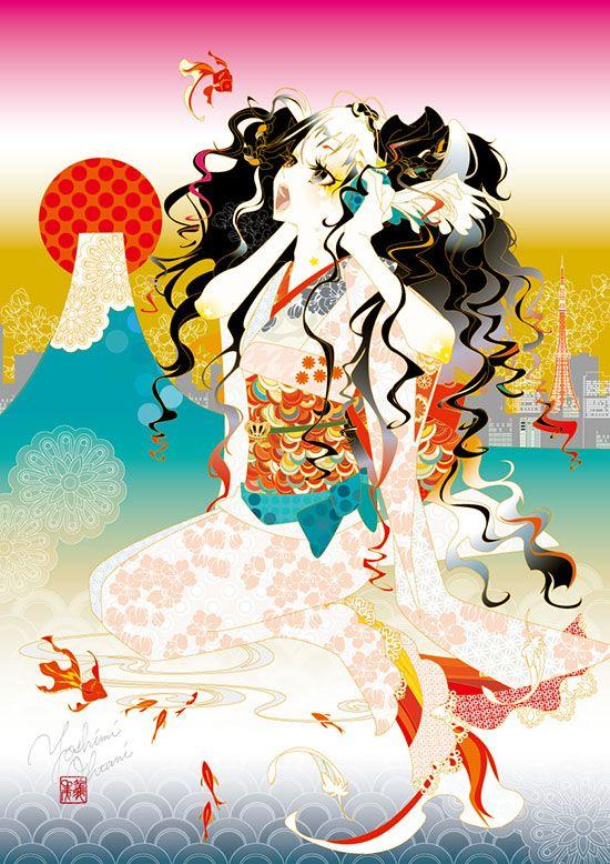 Artist: Funarium (Yoshimi Mori) #Yellowmenace: Reframing the Geisha