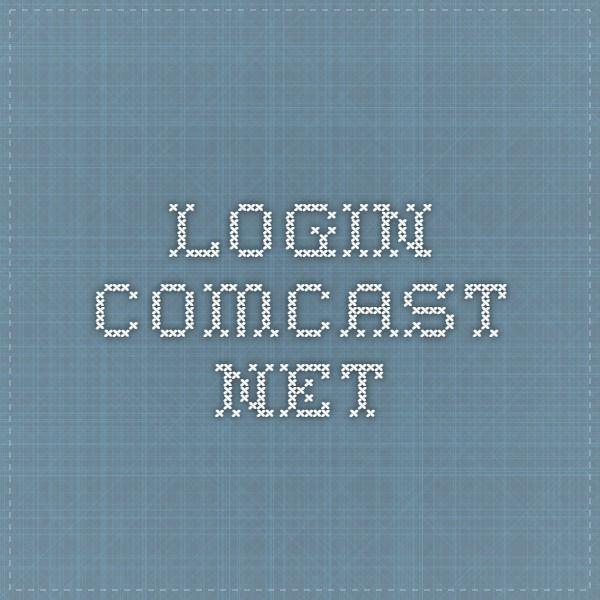 login.comcast.net