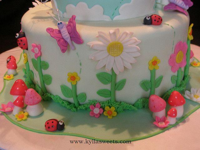 garden birthday cake | Garden birthday cake, Garden birthday and ...