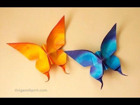 origami mariposa