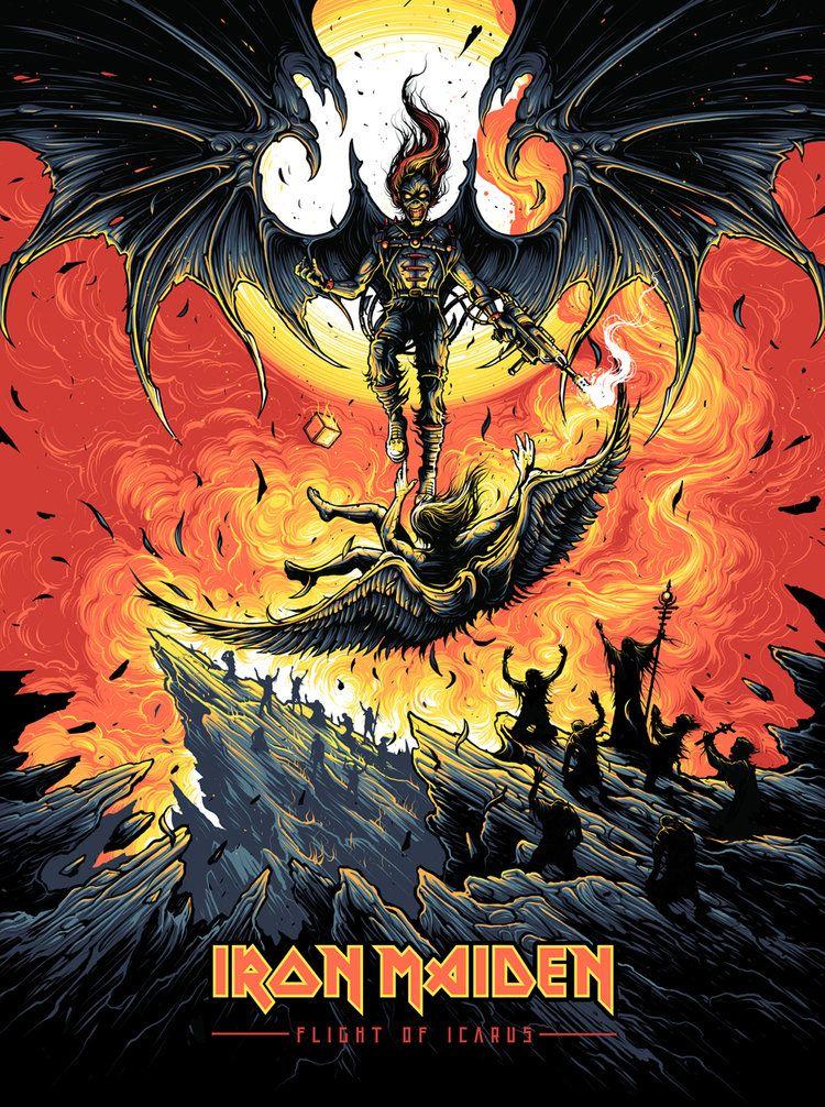 Dan Mumford Chroma Iv Iron Maiden Albums Iron Maiden Posters Iron Maiden Tattoo