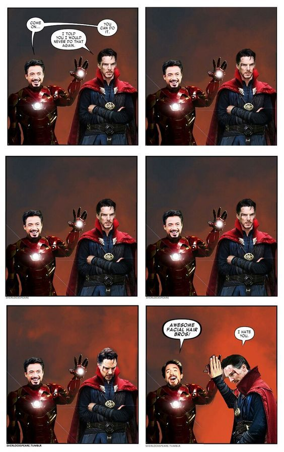iron man and doctor strange funny moment #cosplayclass