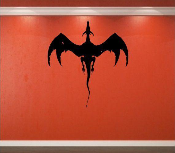 Dragon Vinyl Wall Decal