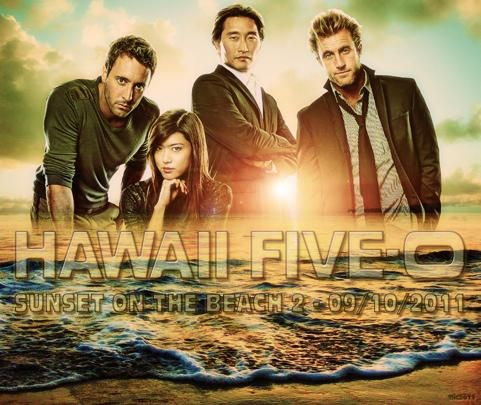 Check Out This Cool Fan Made Wallpaper For Hawaii Five 0 S Sunset