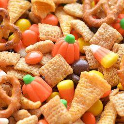 Halloween Harvest Hash Chex Mix