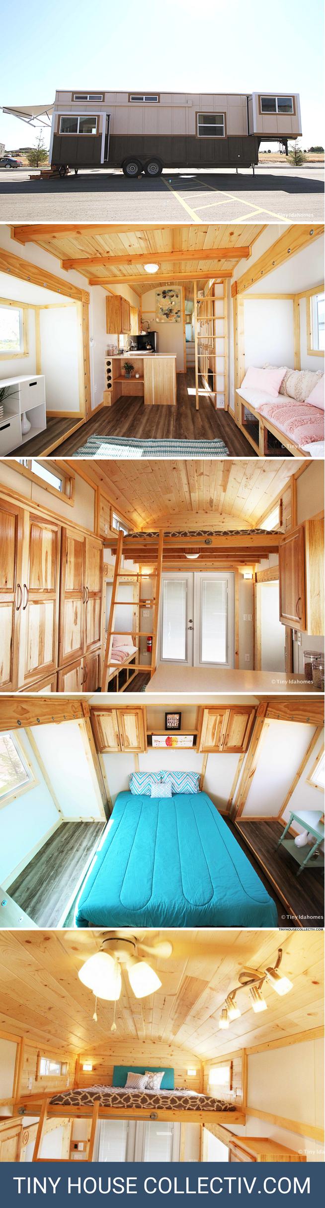 Mountain Top Retreat Tiny House Petit Appartement