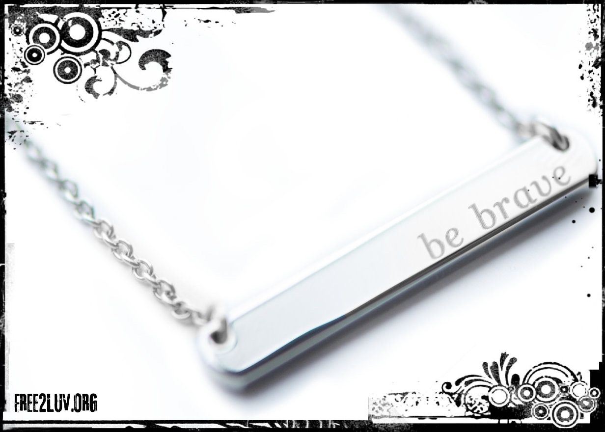 Check out our NEW #Spring Arrivals #Free2Luv #BeBrave Bravelets necklaces! https://www.bravelets.com/bravepage/free2luv … Show your brave!