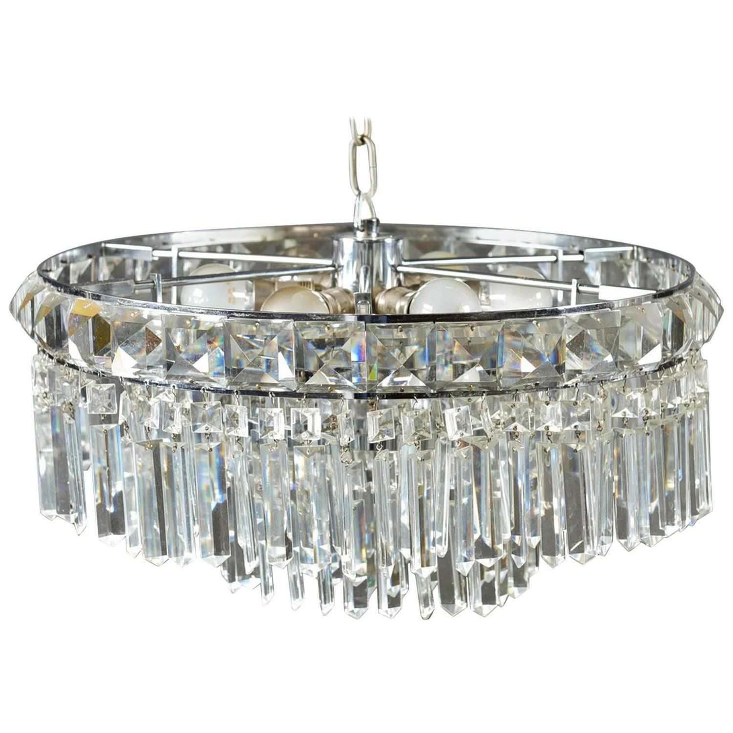 Cat crystal chandelier from the s chandelier pinterest