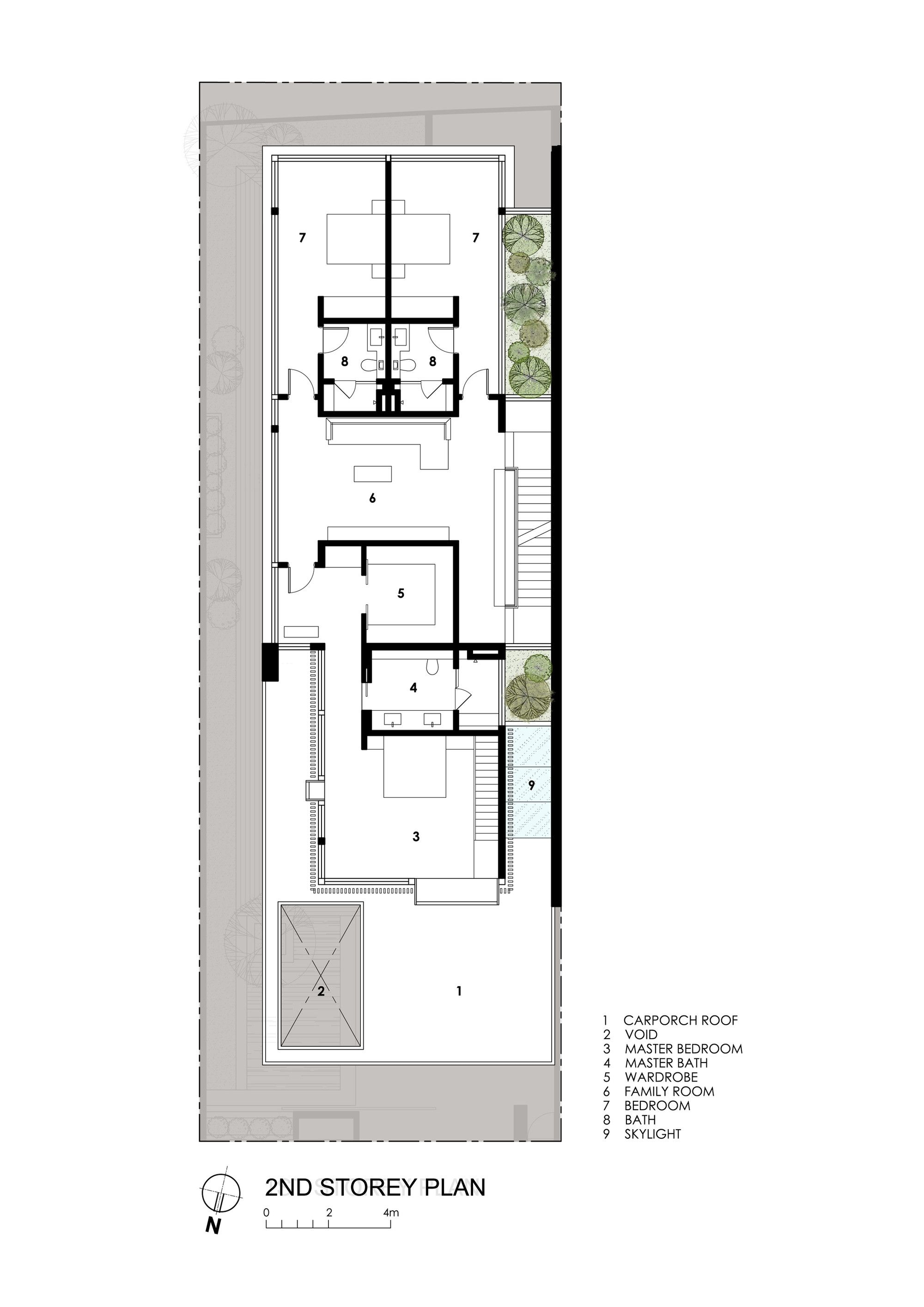 Gallery Of Far Sight House Wallflower Architecture Design 19 Architecture Design Architecture Plan How To Plan