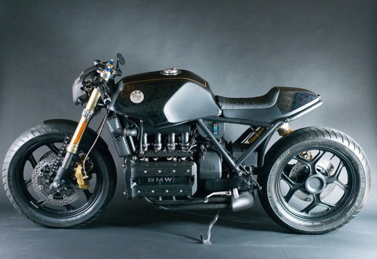 Bmw K100rs By Motochef With Images Vintage Cafe Racer Bmw