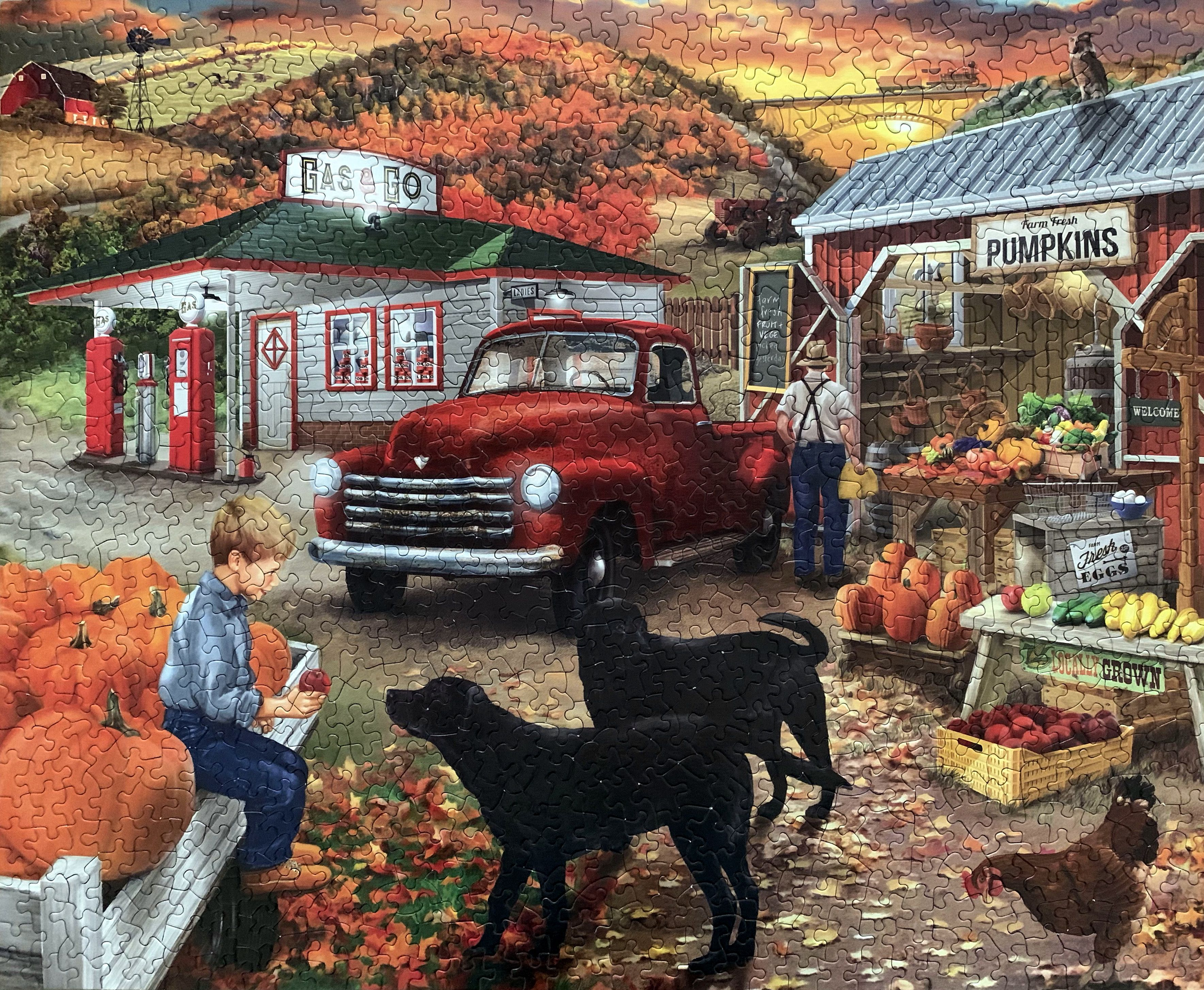 Roadside Stand, Art by Bigelow Illustrations, release year
