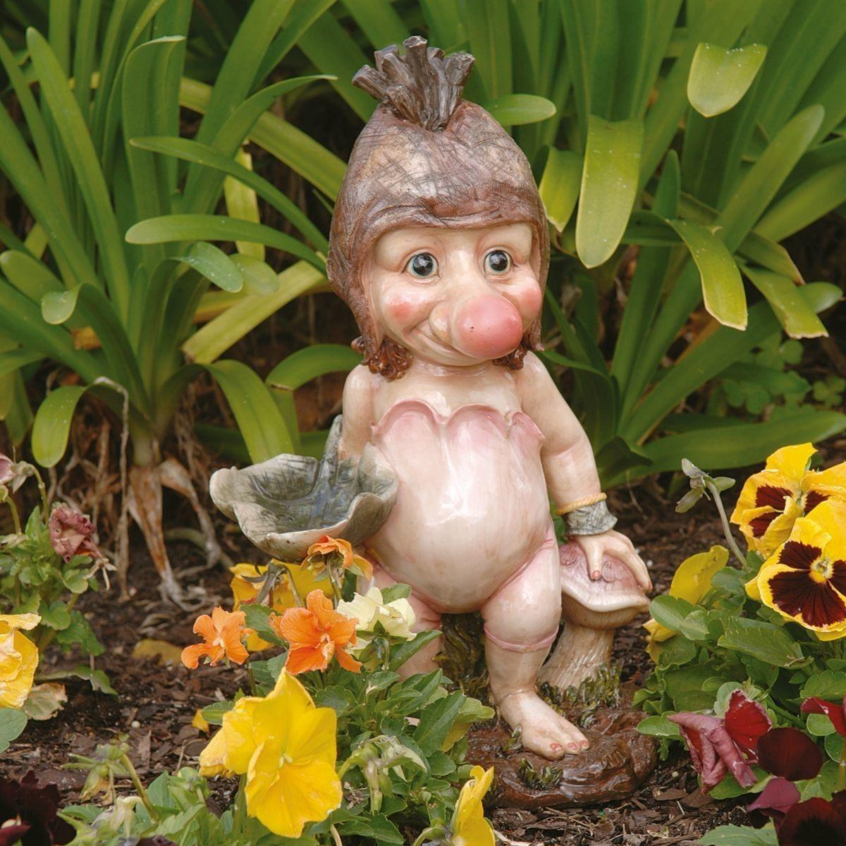 Ollie The Garden Troll Statue