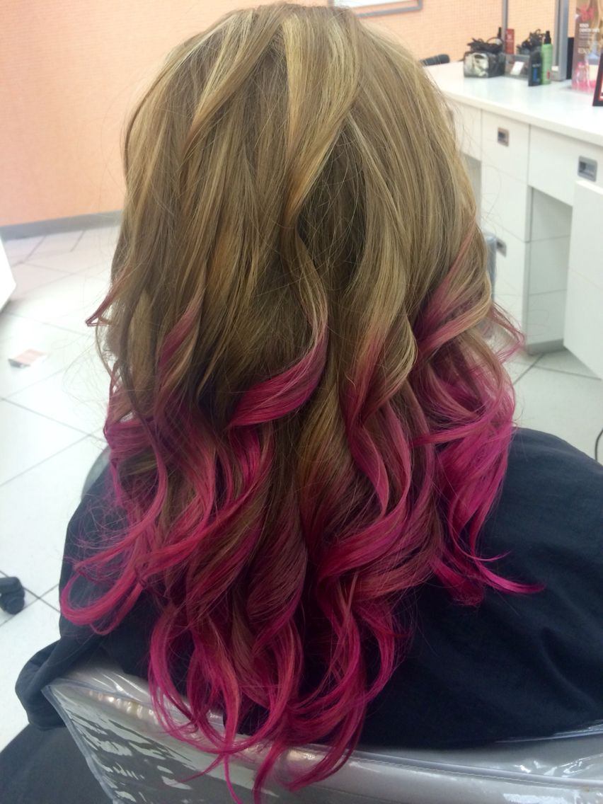 My new pink ombré