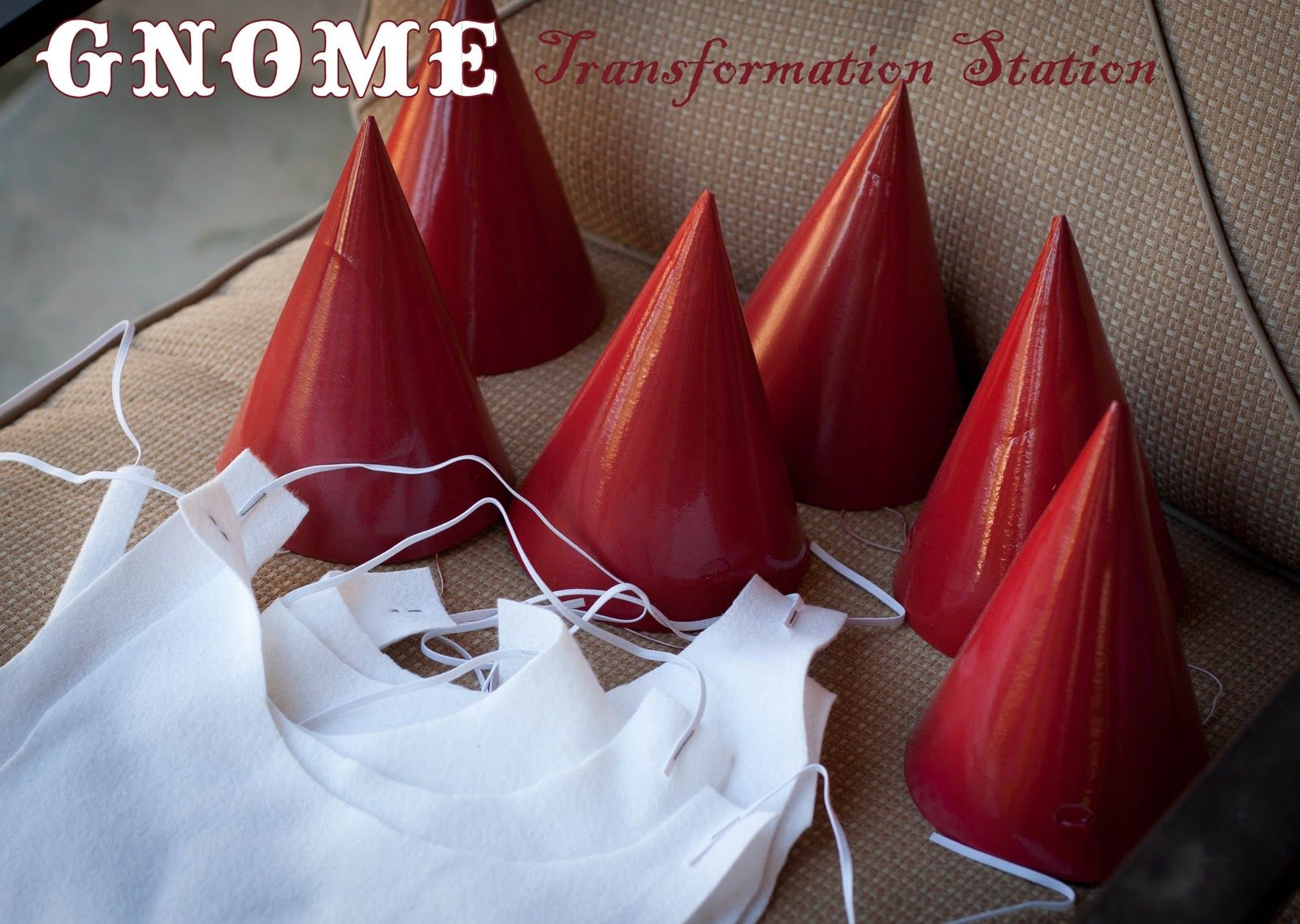 What do you do with little boys at a #fairy #party? Turn them into #gnomes, of course!