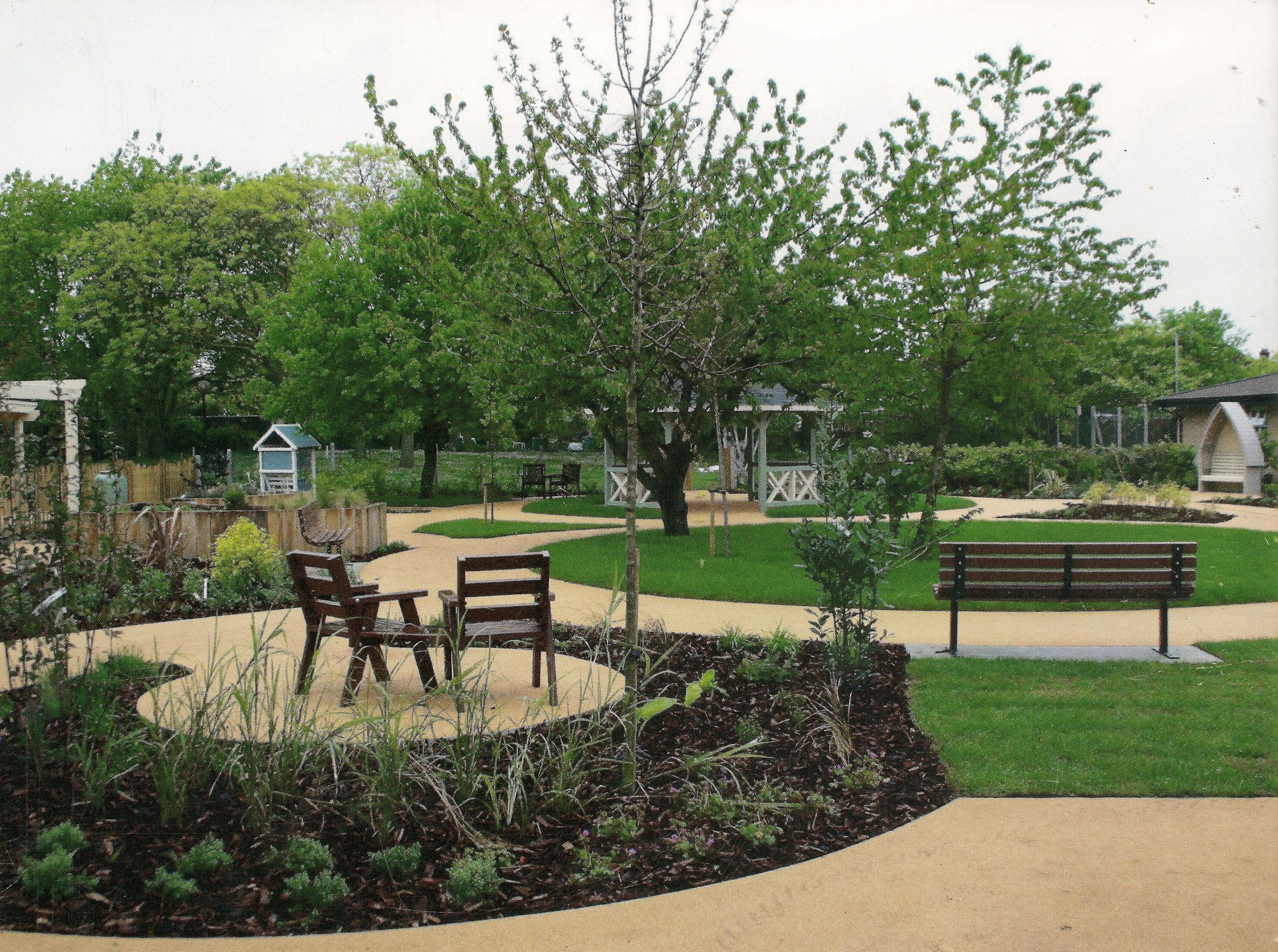 Elm Horticulture Limited - Page Sensory Garden Nhs