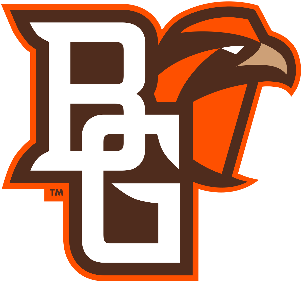 Bowling Green Falcons Logo Bowling Green State University Falcon Logo Falcons Football