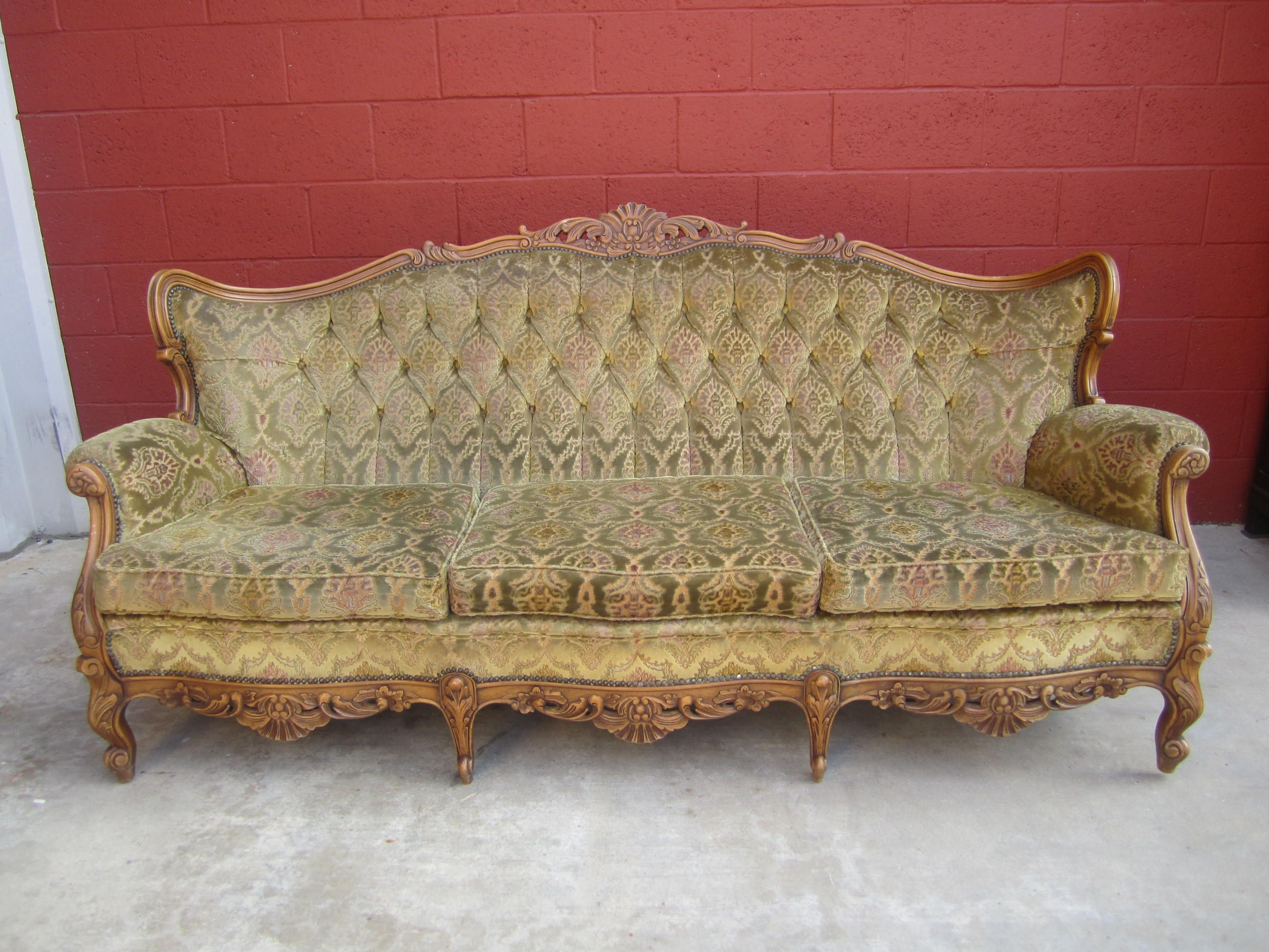 antique into nest little turned converted vintage crib couch couches