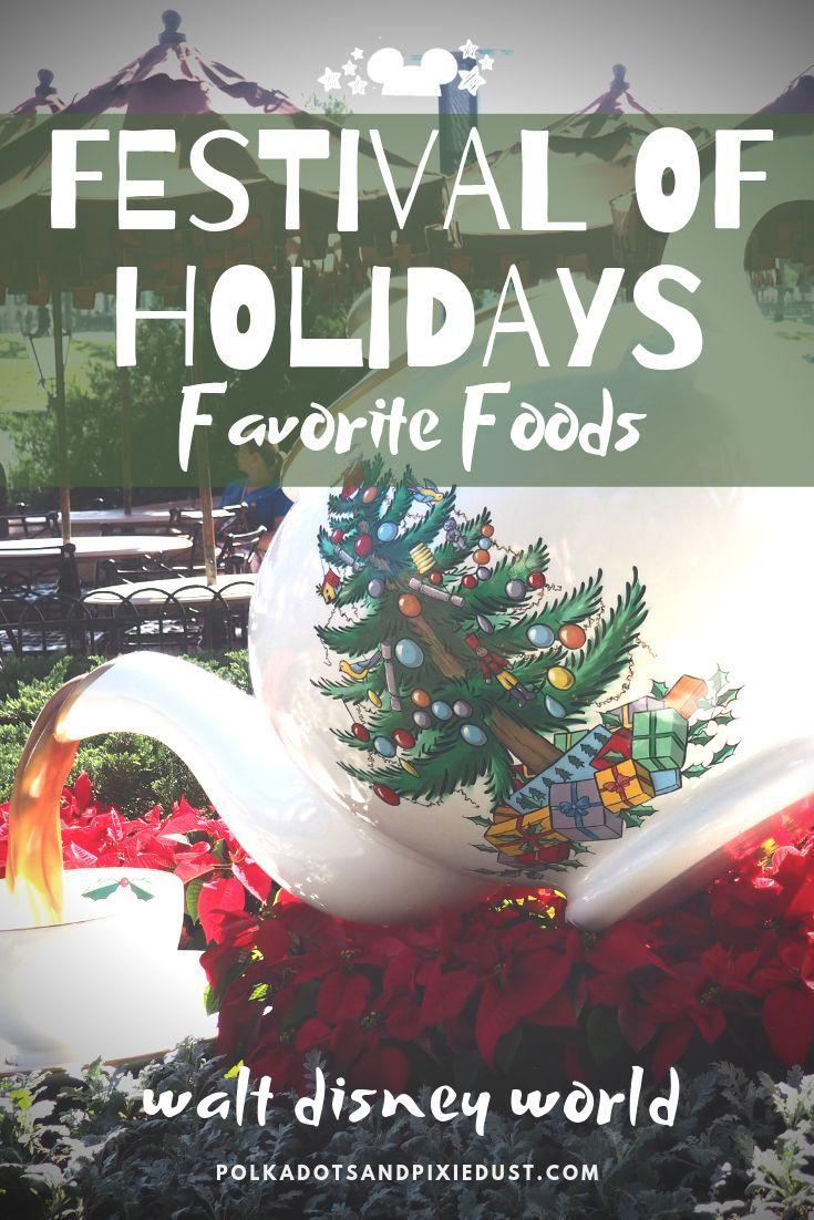 International Festival of Holidays Favorite Foods