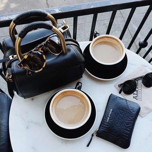 coffee | bags | sunnies | ❀ krystalynlaura #lifestyle
