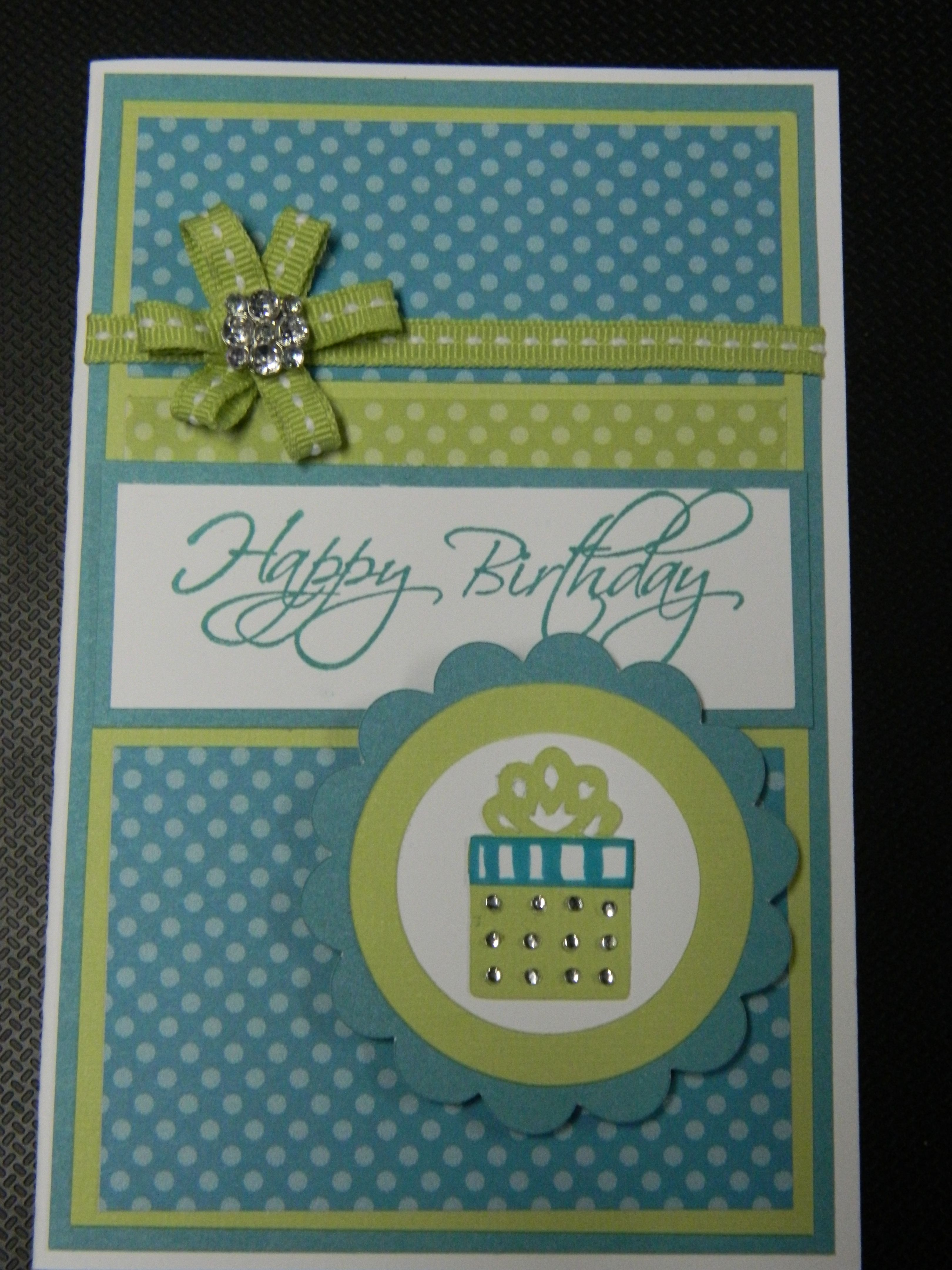 Birthday Card Using The New Dotty For You Paper Pack From Close To