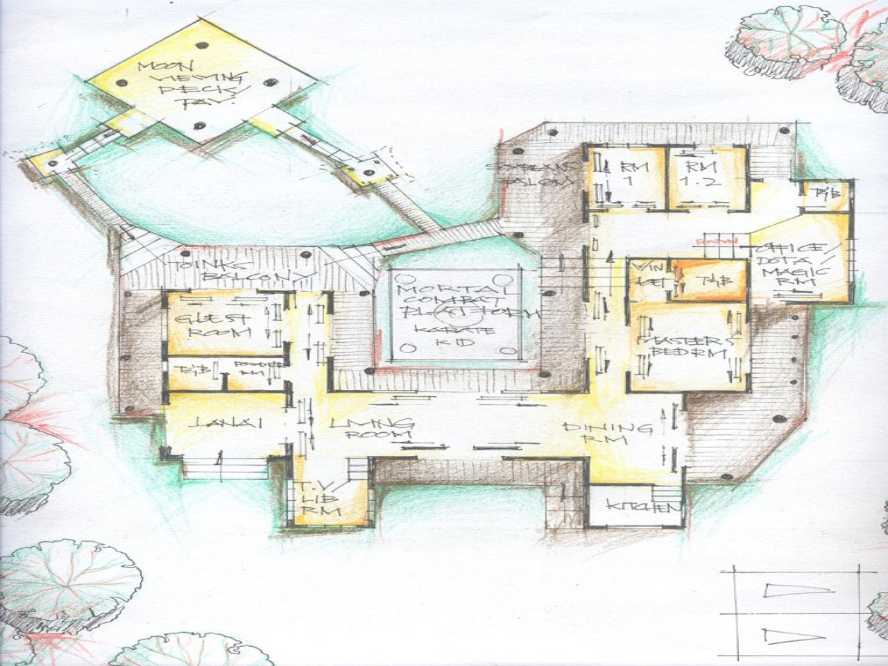 Typical Japanese House Floor Plan Traditional Japanese House Japanese Style House Japanese House