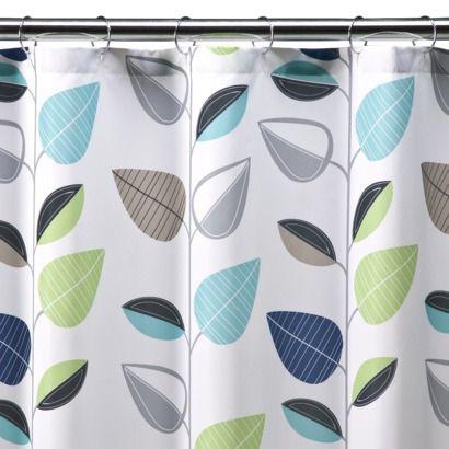 Room Essentials Vine Leaf Shower Curtain Target Purple Shower