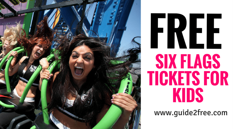 Free Six Flags Tickets Best Money Saving Tips Six Flags Money Saving Tips