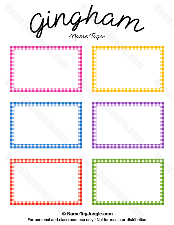 It's just a graphic of Declarative Free Printable Classroom Name Tags