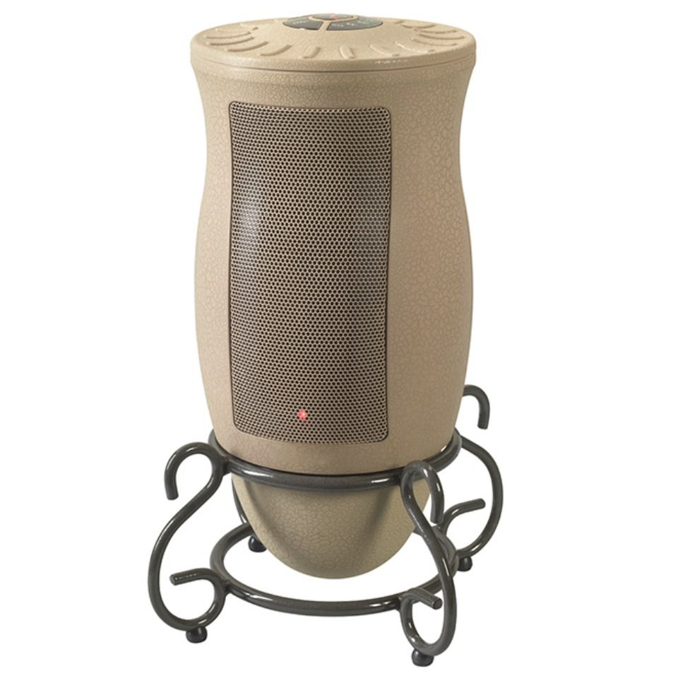 Designer Series Oscillating Ceramic Heater With Remote Control Sharper Image Lasko Space Heater Ceramic Heater