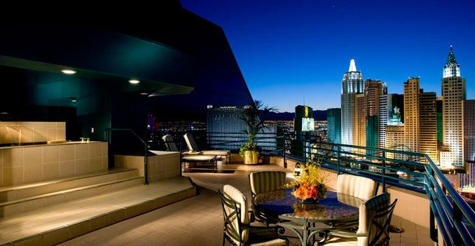 Venue For Reception The Terrace Suite At MGM Grand In Las Vegas