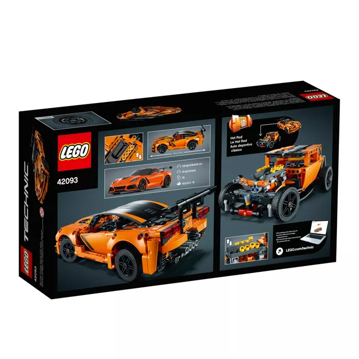 Lego Technic Chevrolet Corvette Zr1 42093 In 2020 Chevrolet